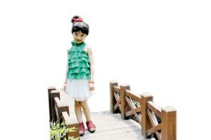 邓雅文 br 我是小小主持人--洛阳晚报--河南省第